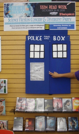 Using the Tardis for the book display