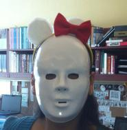 Hello Kitty Headband-ignore the scary mask