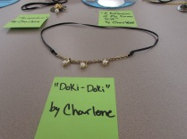 The Doki-Doki Necklace by Charlene