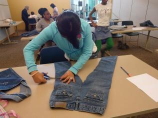 Cut your jeans