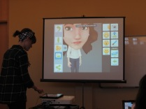 Showing how to use Tellagami