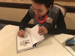 marie lu signing
