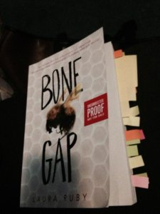 bone gap with tabs